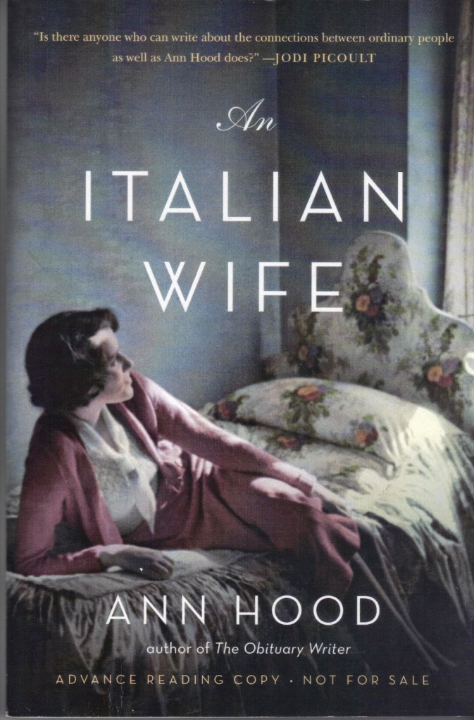 Ann Hood, The Italian Wife
