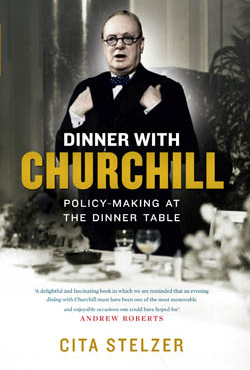 Cita Stelzer, Dinner With Churchill