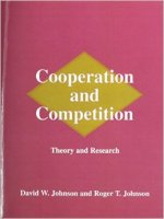 David W. Johnson and Roger T. Johnson, Cooperation and Competition