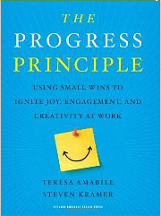 "Cover of ""The Progress Principle"""