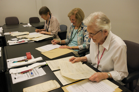 CWCC members review case files