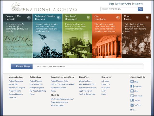 archivesgov-redesign