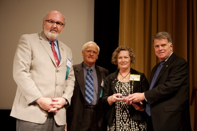 National Mediation Board accepts the Archivist Achievement Award