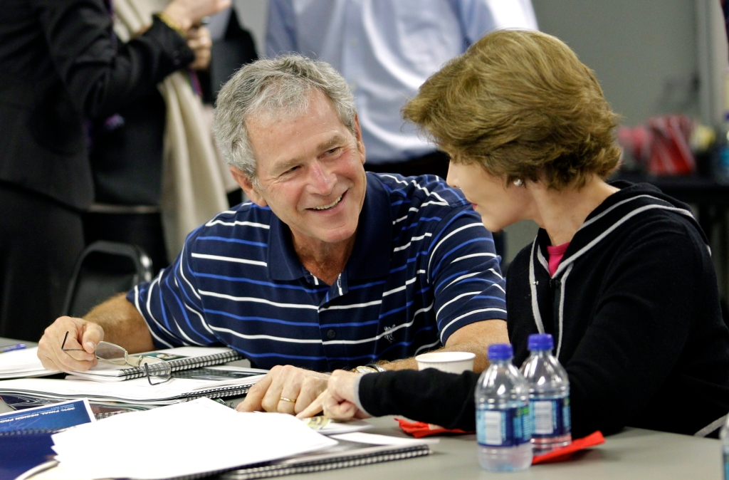 President and Mrs. Bush