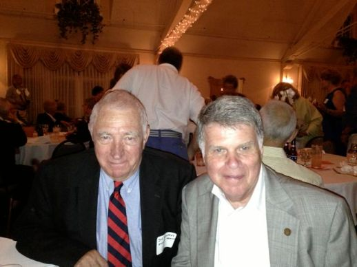 "Emery ""Joe"" Hollerer and David Ferriero"