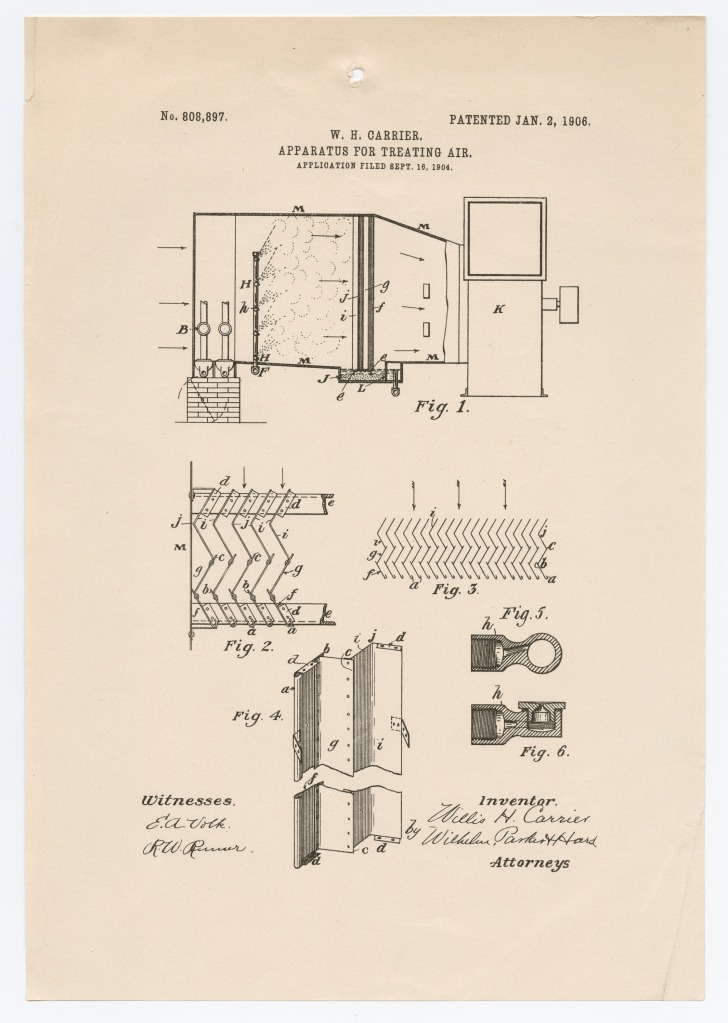 air treatment patent