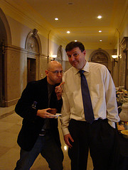 Brad Meltzer at the National Archives