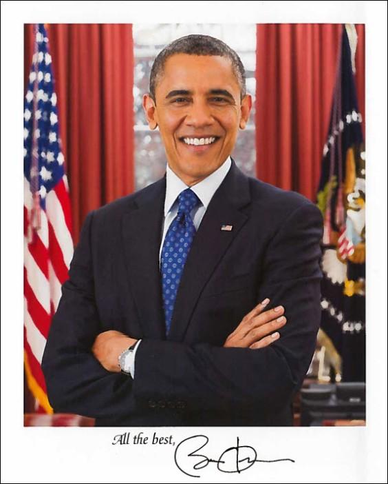 President Obama Letter page 1
