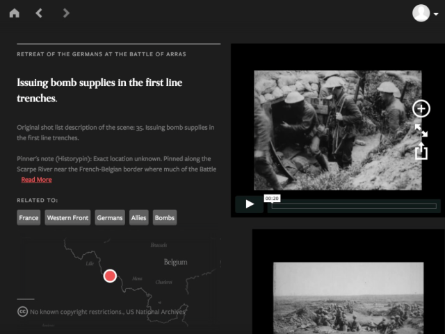 WWI app screenshot 3